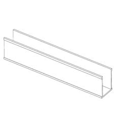 INFINITY DRAIN G 38 PVC CHANNEL