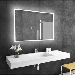 PARIS MIRRORS REF48326000D DIMMABLE 48 X 32 INCH REFLECTION BACKLIT MIRROR WITH TOUCH ON/OFF/DIM SENSOR ON MIRROR - 12V