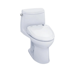 TOTO CST604CUFGT20#01 ULTRAMAX II 1G ONE-PIECE TOILET, 1.0 GPF WITH SANAGLOSS