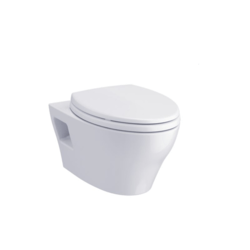 TOTO CWT428CMFG EP WALL-HUNG DUAL-FLUSH TOILET, 1.28 GPF & 0.9 GPF WITH DUOFIT IN-WALL-TANK-KIT