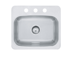 FRANKE BMSK803 AXIS 19-1/8 INCH DUAL MOUNT KITCHEN SINK
