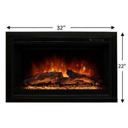MODERN FLAMES ZCR2 ZCR ELECTRIC INSERT 29X19 FIREBOX