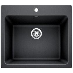 BLANCO 401920 LIVEN 25 INCH GRANITE LAUNDRY SINK IN ANTHRACITE