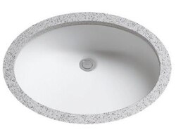TOTO LT597G DANTESCA 19 X 15 INCH UNDERCOUNTER LAVATORY WITH SANAGLOSS