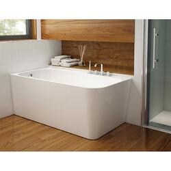 FLEURCO BKA5929-18 KAPELLE 59 INCH RECTANGULAR BATHTUB IN WHITE