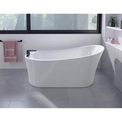 FLEURCO BZCO6731-18 CONCERTO GRANDE 67 INCH SPECIALTY BATHTUB IN WHITE WITH DRAIN COVER