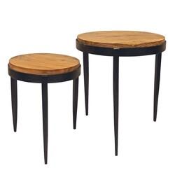 YOSEMITE 240029 20.5/16.5 INCH RAJU NESTING TABLES