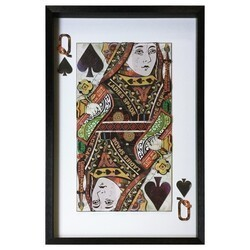 YOSEMITE 3120051 24 X 36 INCH QUEEN OF SPADES
