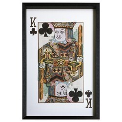 YOSEMITE 3120052 24 X 36 INCH KING OF CLUBS