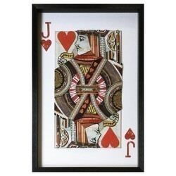 YOSEMITE 3120053 24 X 36 INCH JACK OF HEARTS
