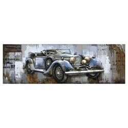 YOSEMITE 3130053 61.02 X 21.65 INCH BLUE VINTAGE CAR