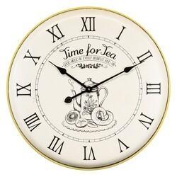 YOSEMITE 5140002 TIME FOR TEA WALL MOUNT CLOCK