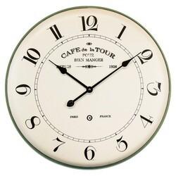 YOSEMITE 5140004 FRENCH CAFÉ WALL MOUNT CLOCK