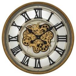 YOSEMITE 5140038 GOLD GEAR CLOCK
