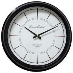 YOSEMITE 5130004 LESS IS MORE CONTEMPORARY WALL MOUNT CLOCK