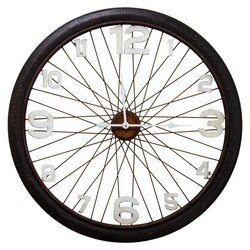 YOSEMITE 5140013 BICYCLE MOOD UNIQUE DESIGN WALL MOUNT CLOCK