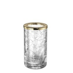 WINDISCH 91061 MINIS CRACKLED CRYSTAL GLASS TOOTHBRUSH HOLDER