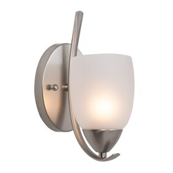 YOSEMITE 1261-1WS-BN MIRROR LAKE COLLECTION ONE LIGHT WALL SCONCE