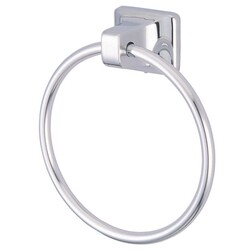KINGSTON BRASS BA014C AMERICAN 6.89 INCH TOWEL RING IN POLISHED CHROME