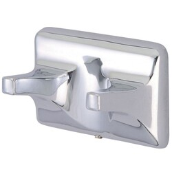 KINGSTON BRASS BA017C AMERICAN DOUBLE ROBE HOOK IN POLISHED CHROME
