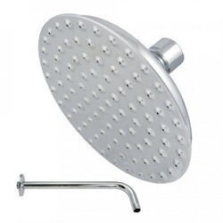 KINGSTON BRASS K135A1CK VICTORIAN SHOWERHEAD WITH SHOWER ARM IN POLISHED CHROME
