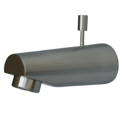 KINGSTON BRASS K6184A8 MADE TO MATCH SPOUT FOR TUB AND SHOWER FAUCET WITH DIVERTER IN SATIN NICKEL