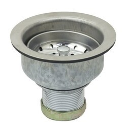 KINGSTON BRASS N52004 MADE TO MATCH DOUBLE CUP BASKET STRAINER IN CHROME
