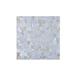LEGION FURNITURE MS-SEASHELL04 MOSAIC WITH SEASHELL IN OFF WHITE