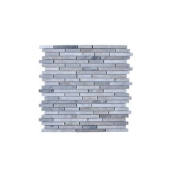 LEGION FURNITURE MS-STONE10 MOSAIC WITH STONE IN GRAY