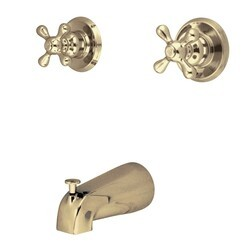 KINGSTON BRASS KB242AXTO TUB ONLY FOR KB242AX IN POLISHED BRASS