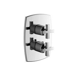ISENBERG 240.4301 SERIE 240 3/4 INCH THERMOSTATIC VALVE WITH 3-WAY DIVERTER AND TRIM