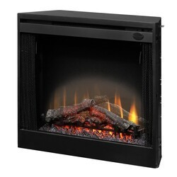 DIMPLEX BFSL33 32 1/2 INCH LED WALL MOUNT BUILT-IN ELECTRIC FIREPLACE