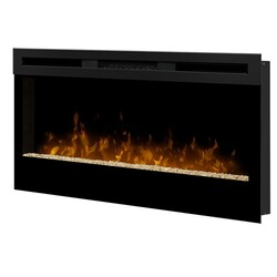 DIMPLEX BLF34 WICKSON 34 1/8 INCH WALL MOUNT BUILT-IN LINEAR ELECTRIC FIREPLACE