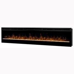 DIMPLEX BLF74 GALVESTON 74-1/4 INCH LINEAR WALL MOUNT BUILT-IN ELECTRIC FIREPLACE