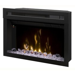 DIMPLEX PF2325HG 25-7/8 INCH MULTI FIRE XD CONTEMPORARY ELECTRIC FIREPLACE INSERT IN BLACK
