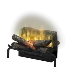 DIMPLEX RLG20 REVILLUSION 23-3/4 INCH TRADITIONAL ELECTRIC FIREPLACE LOG INSERT IN BLACK