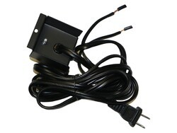 DIMPLEX BLF-PLUG-KIT PLUG KIT TO CONVERT TO OUTLET FOR BLF74 FOR USE WITH 120V ONLY