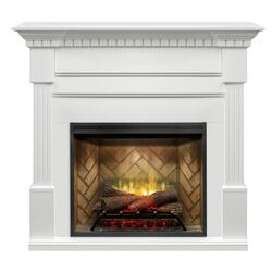 DIMPLEX GDS30RBF-1801 BUILDRITE SERIES CHRISTINA FIREPLACE PACKAGE