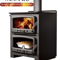 DIMPLEX N550 33 INCH WOOD STOVE HEATER & OVEN