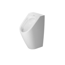 DURAVIT 280930 ME BY STARCK 11 3/4 X 13 3/4 INCH URINAL RIMELESS WITHOUT FLY, 0.5 GPF