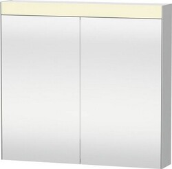 DURAVIT LM782100000 UNIVERSAL MIRRORS 31 7/8 W X 31 1/2 H INCH MIRROR CABINET WITH LIGHT