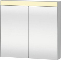 DURAVIT LM7841000006 UNIVERSAL MIRRORS 31 7/8 W X 29 7/8 H INCH MIRROR CABINET WITH LIGHT