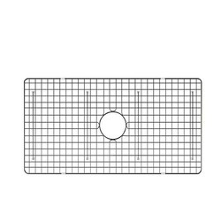 RUVATI RVA623009 30 X 17 INCH STAINLESS STEEL BOTTOM RINSE GRID FOR RVL2300WH FIRECLAY KITCHEN SINK