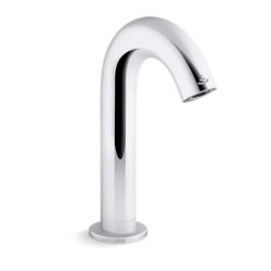 KOHLER K-104B77-SANA-CP OBLO FAUCET WITH KINESIS SENSOR AND MIXER, DC-POWERED
