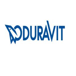 DURAVIT 006107 HINGES (PAIR) FOR URINAL COVER CARO IN BLACK