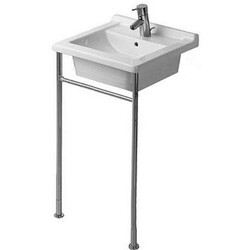 DURAVIT 0030641000 STARCK 3 METAL CONSOLE IN CHROME FOR FURNITURE BASIN # 030348