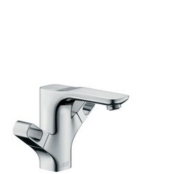 HANSGROHE 11024001 AXOR URQUIOLA 2-HANDLE SINGLE HOLE FAUCET IN CHROME