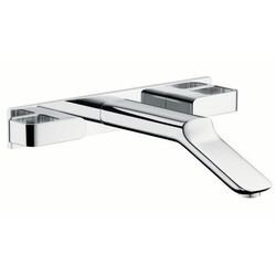 HANSGROHE 11043 AXOR URQUIOLA WALL-MOUNTED WIDESPREAD FAUCET TRIM W/ BASEPLATE