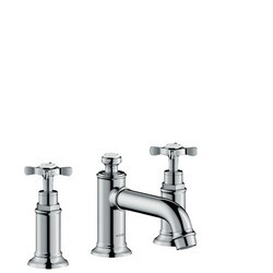 HANSGROHE 16536 AXOR MONTREUX WIDESPREAD FAUCET WITH CROSS HANDLES, 1.2 GPM