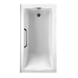 TOTO ABY782 CLAYTON 60 X 32 X 24-1/2 INCH TILE-IN SOAKER WITH SLIP-RESISTANCE SURFACE